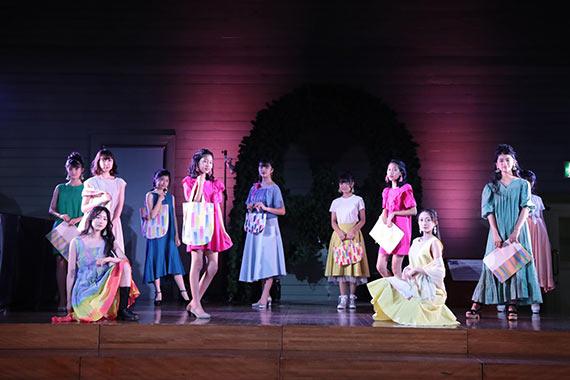 札幌時計台ファッションショー